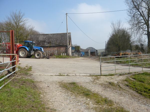 churches path end at crossroads small