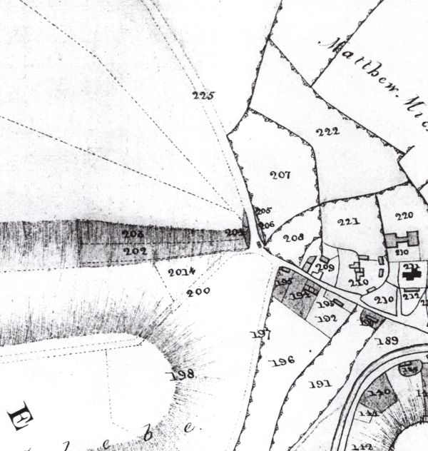 gunville map 1822 small
