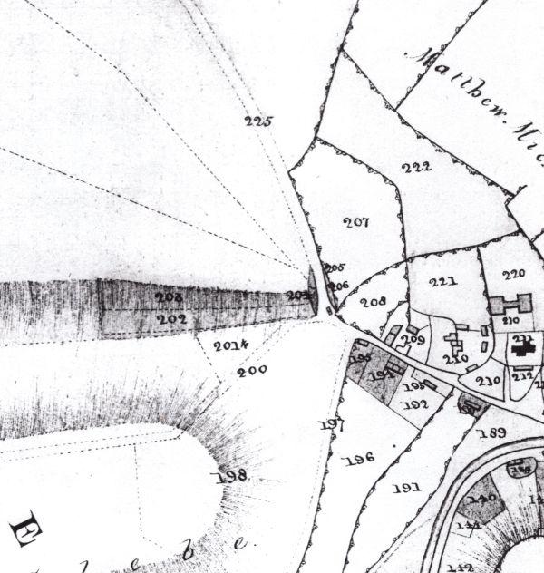 gunville map 1822 small