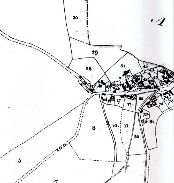 gunville map 1842 small
