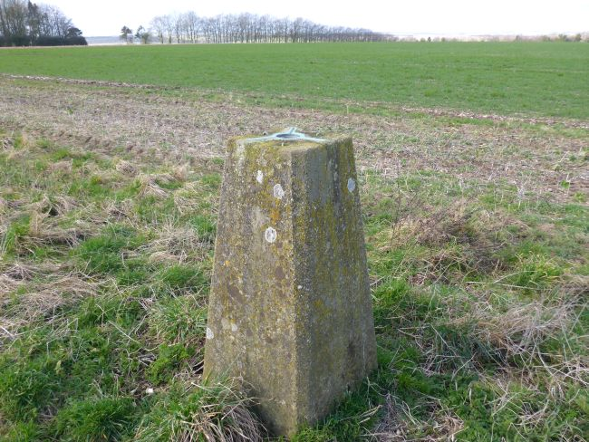 clay pit hill trig point