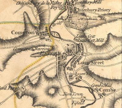 compton enford map 1810