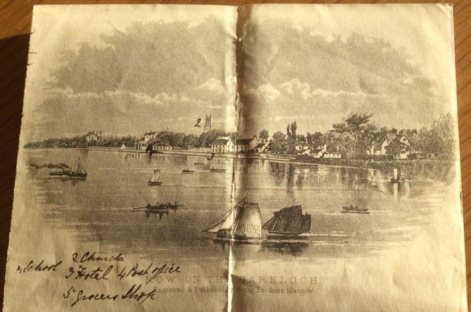 Row Gareloch lithograph
