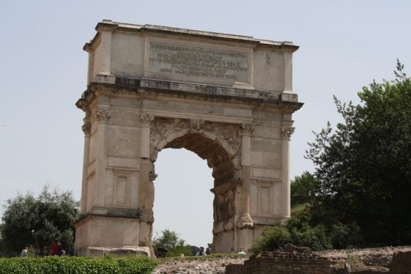 arch of titus rome