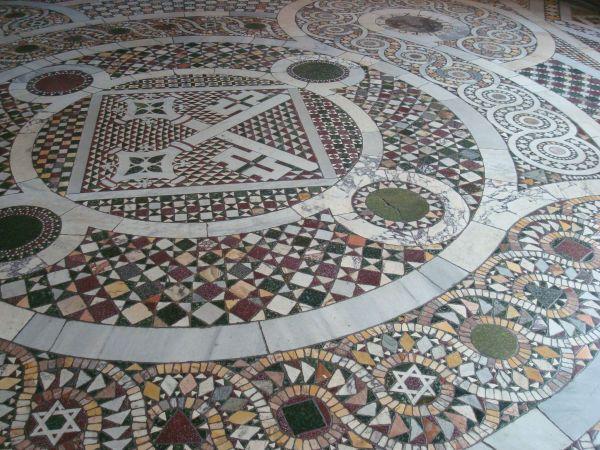 mosaic floor vatican