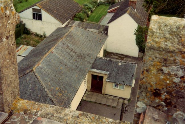 village hall from tower
