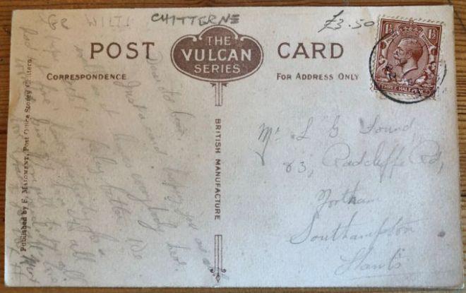 church postcard reverse