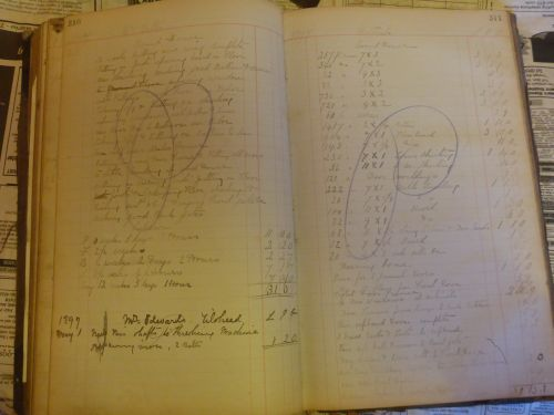 poldenfeltham ledger entry 1897 wallis