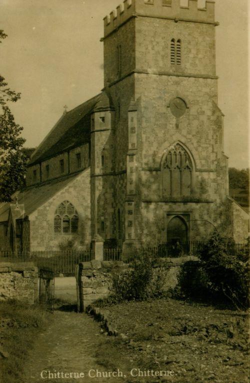 church pre war memorial